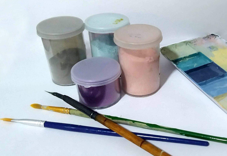 Esmaltes para vitrofusión: algunas técnicas de esmaltado