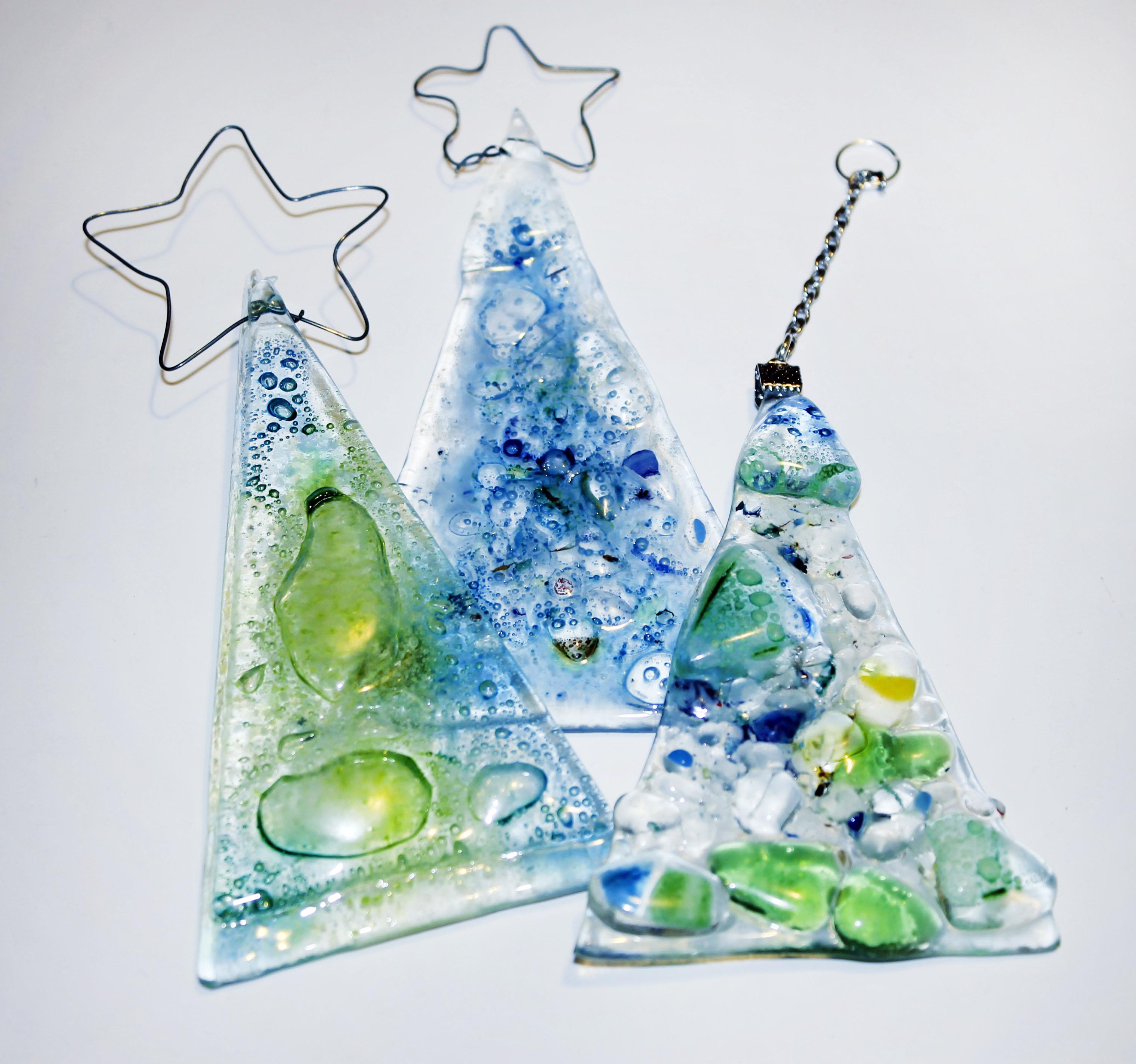 Ideas en vitrofusión para navidad