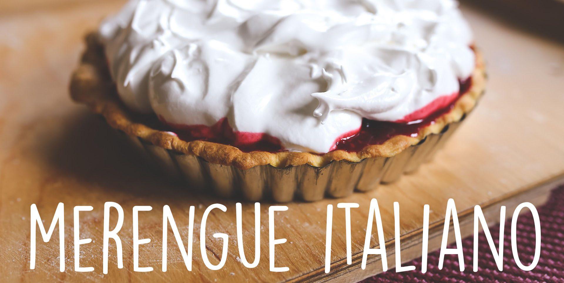 Como preparar merengue Italiano
