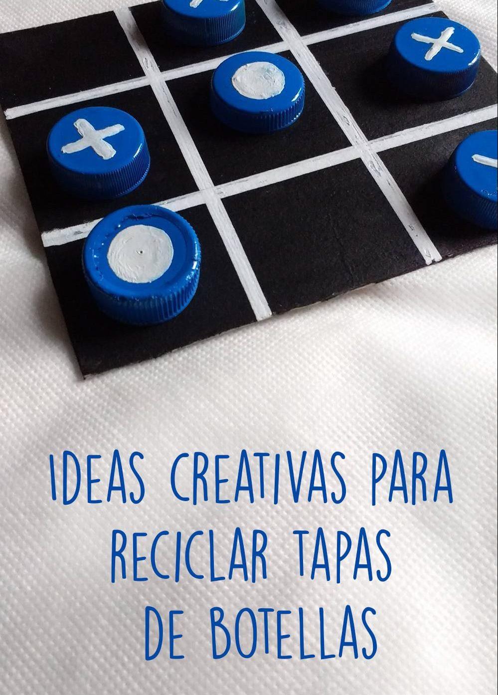 Read more about the article Ideas creativas para reciclar tapas de plástico de botellas