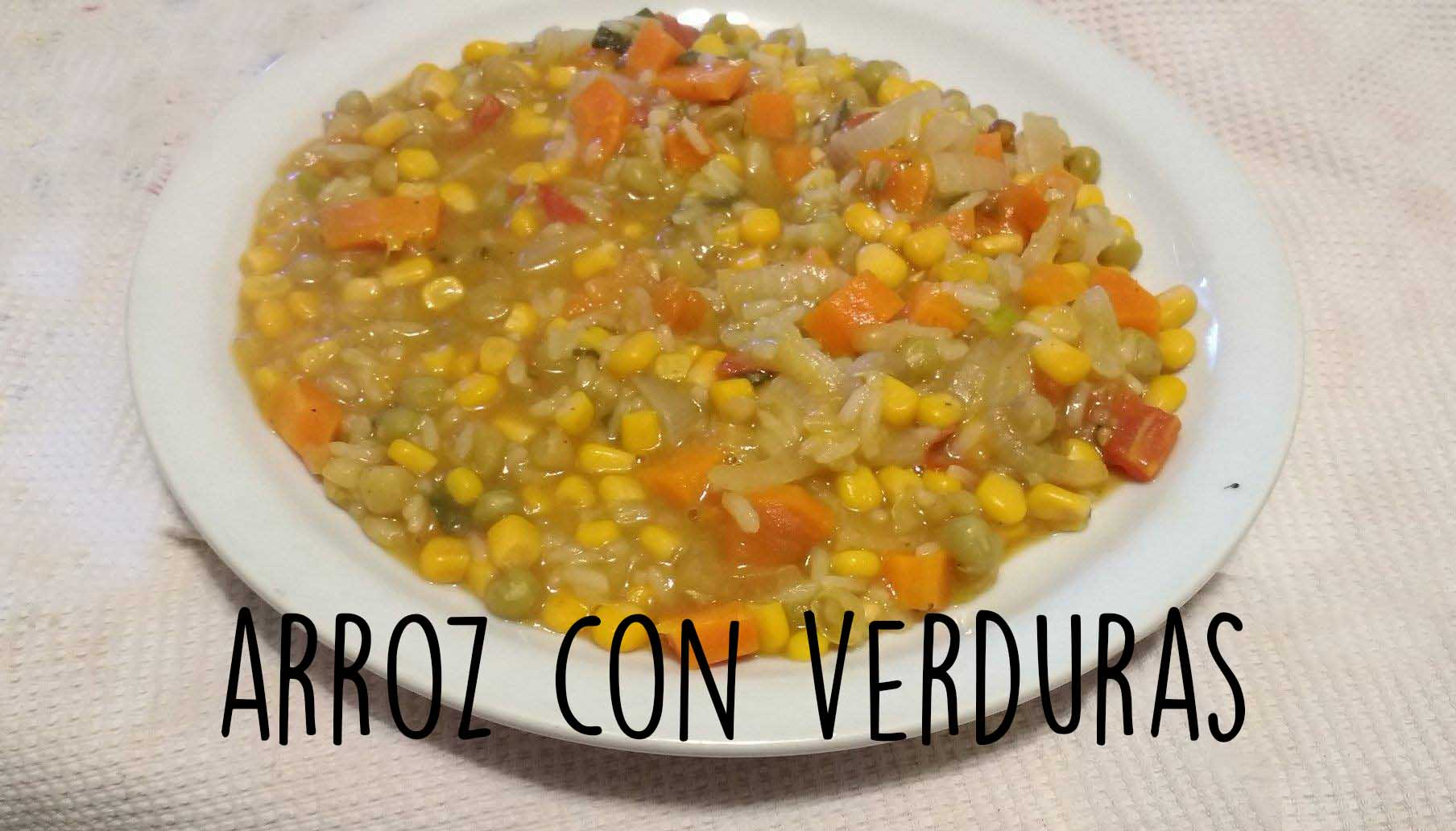 Read more about the article Arroz con verduras: receta fácil y saludable