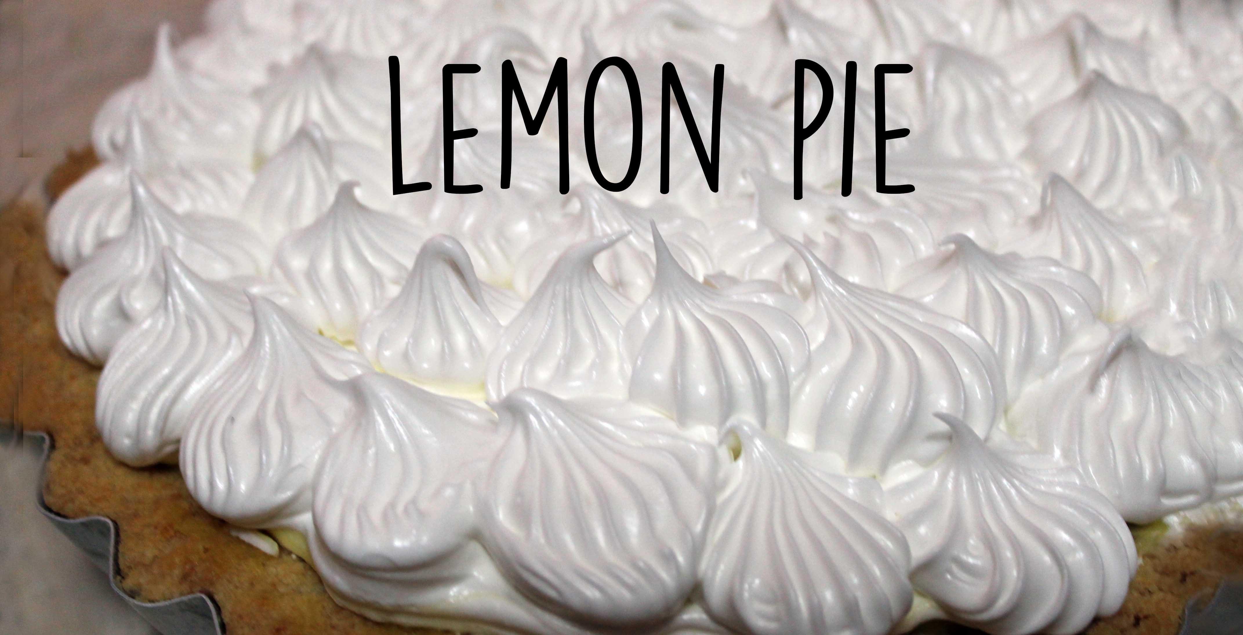 Lemon pie: receta paso a paso