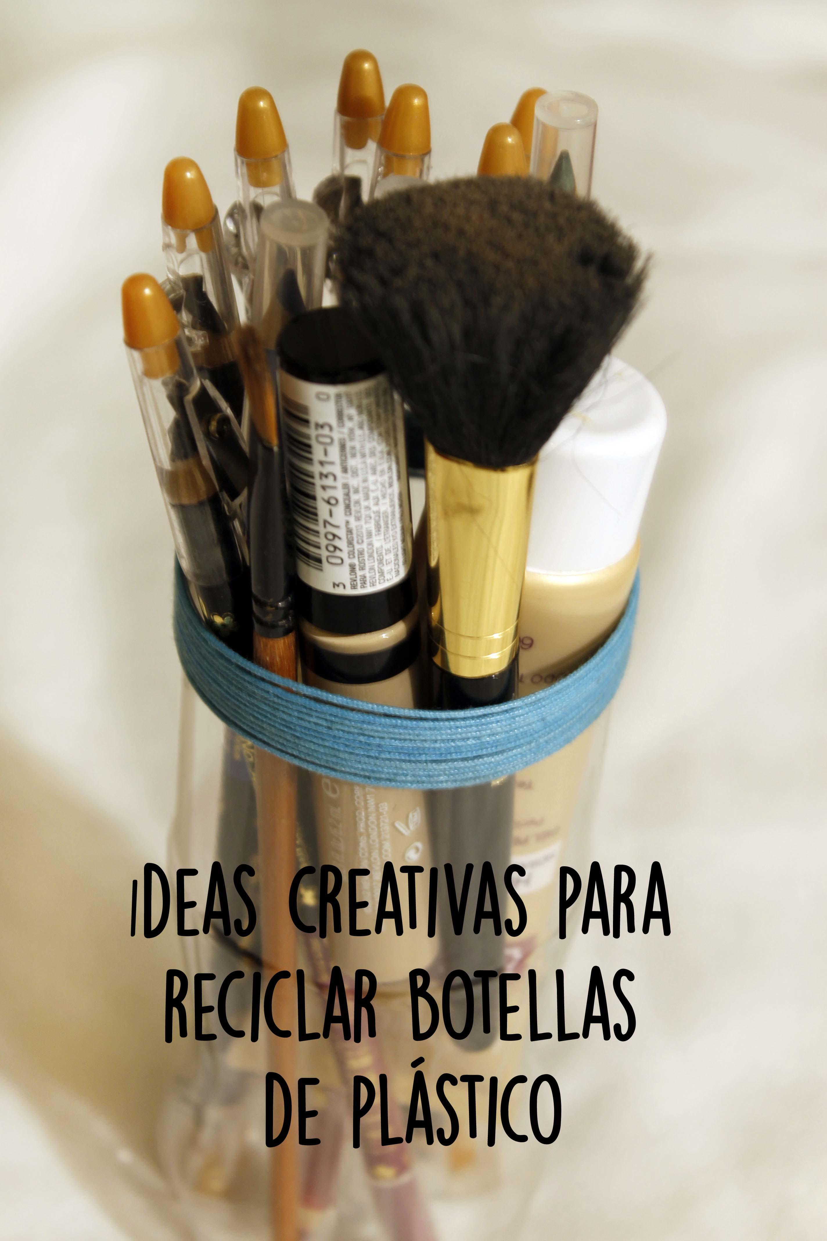 Read more about the article Ideas creativas para reciclar botellas de plástico