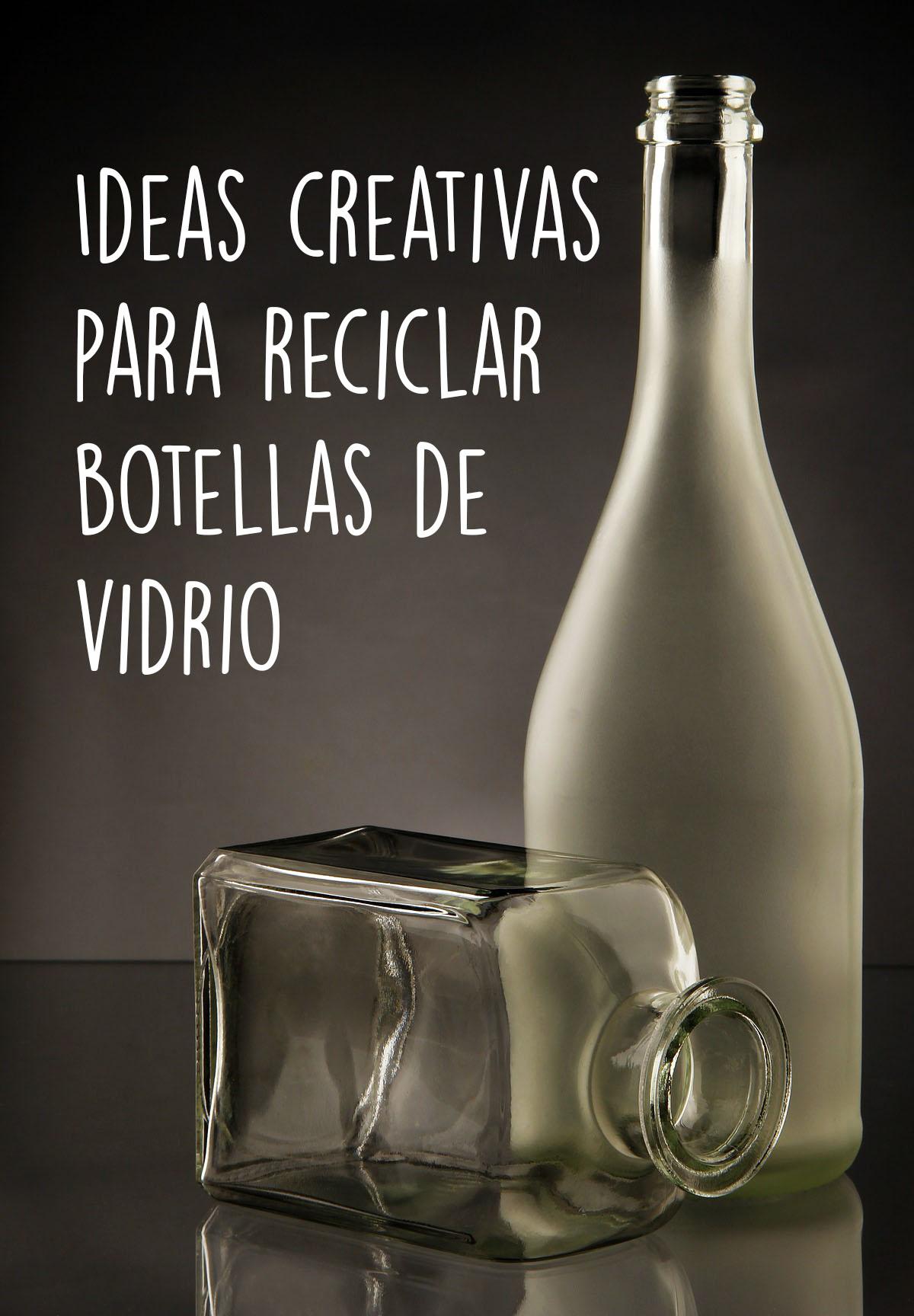Read more about the article Ideas creativas para reciclar botellas de vidrio