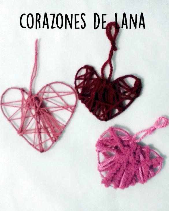 Read more about the article Originales corazones de lana paso a paso