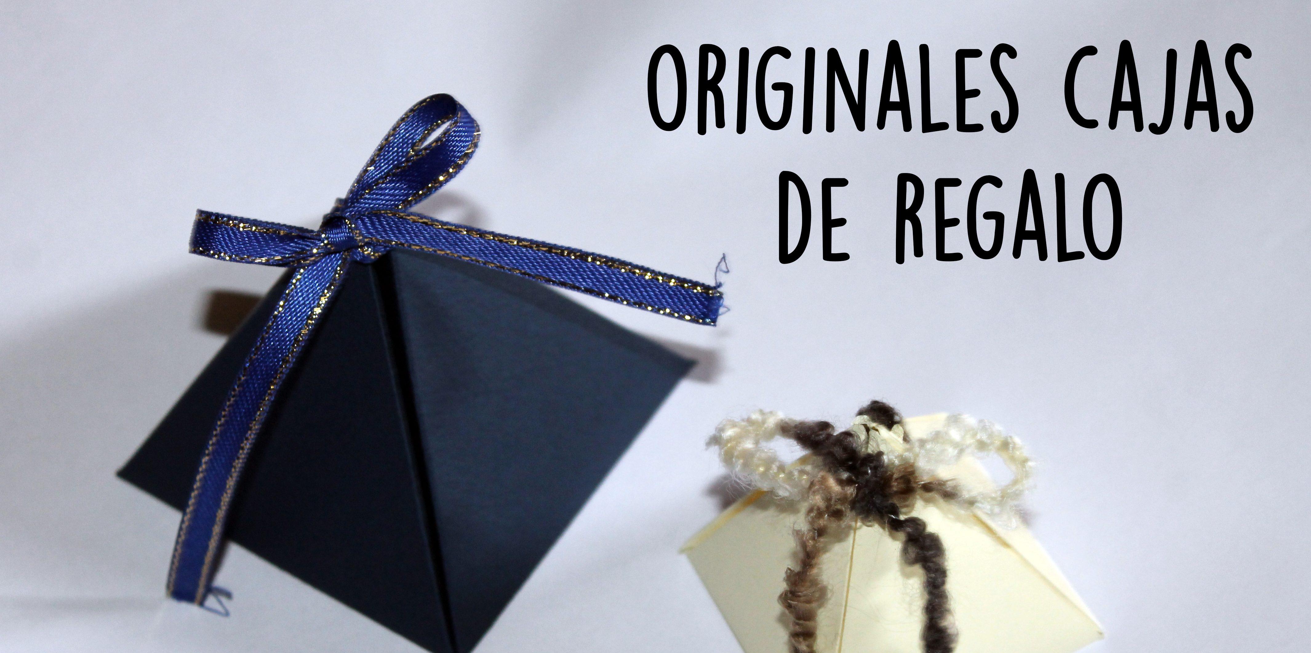 Read more about the article Caja de regalo pirámide con plantilla para imprimir