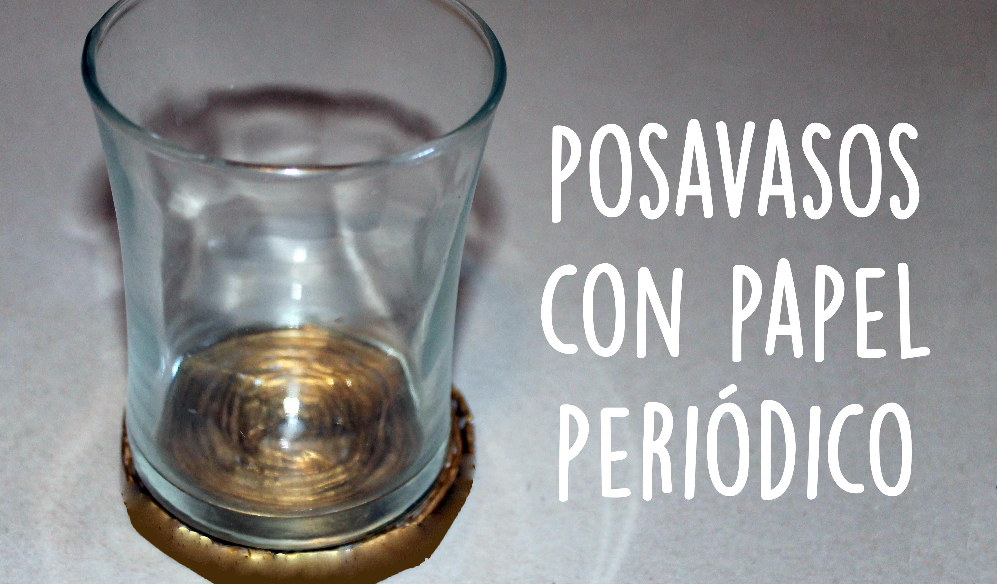Read more about the article Manualidades con papel periódico: originales posavasos