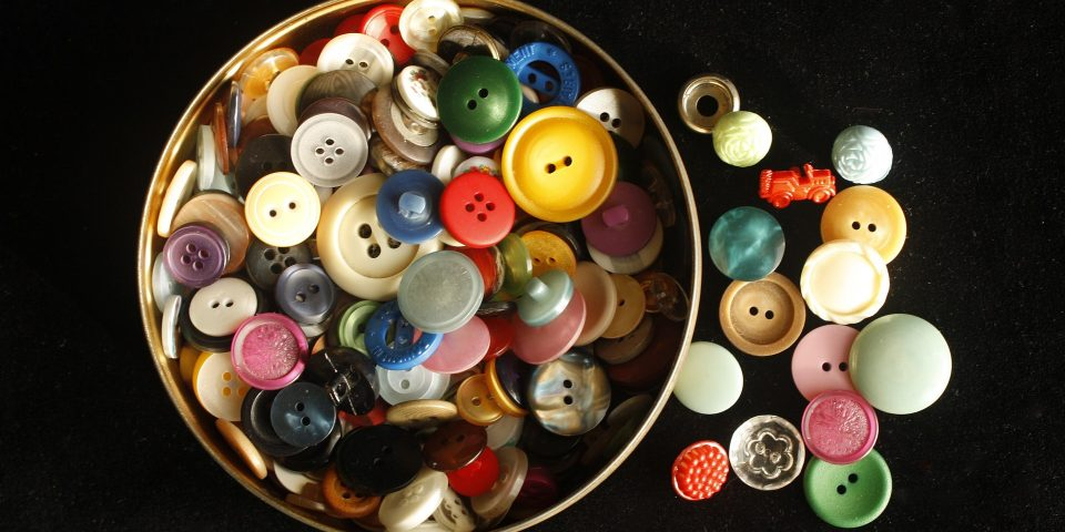 Ideas creativas con botones
